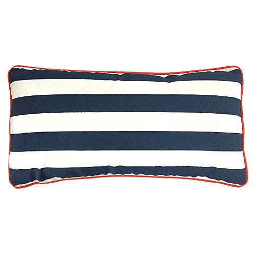 Cabana 14x28 Outdoor Pillow, Navy
