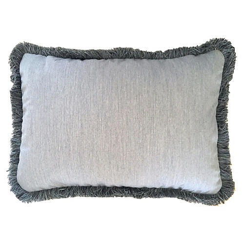 Providence 14x20 Outdoor Pillow, Gray