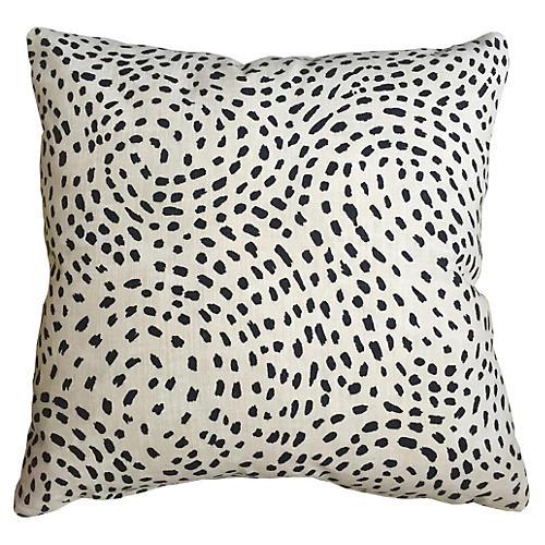 Casanova Spot 20x20 Pillow, Ivory