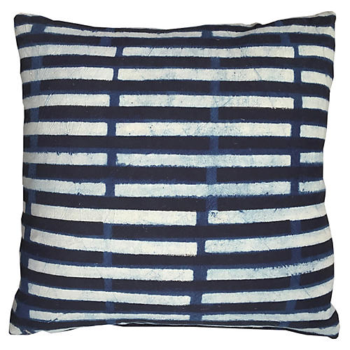 Janu 20x20 Pillow, Indigo