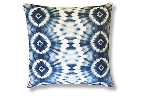Nova 22x22 Indoor/Outdoor Pillow, Blue