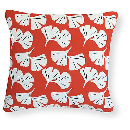 Catalina 20x20 Outdoor Pillow, Orange
