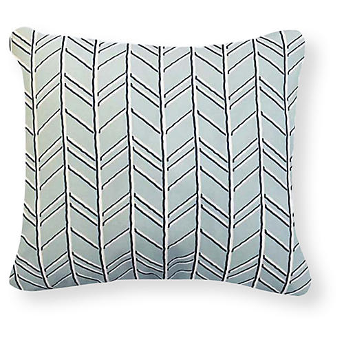 Torrance 20x20 Outdoor Pillow, Sea