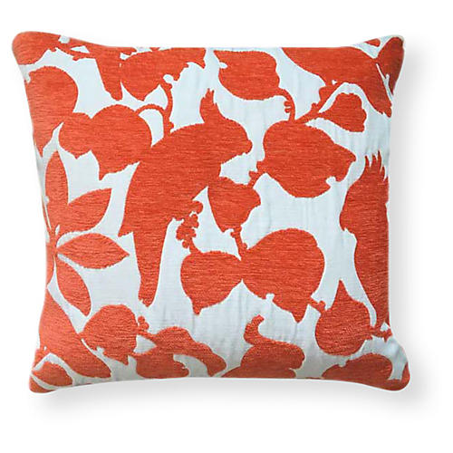 Emery 20x20 Outdoor Pillow, Orange