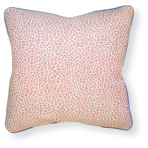 Kinsley 20x20 Outdoor Pillow, Coral