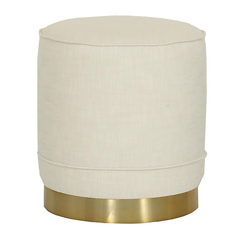 Piper Stool, Ivory Crypton