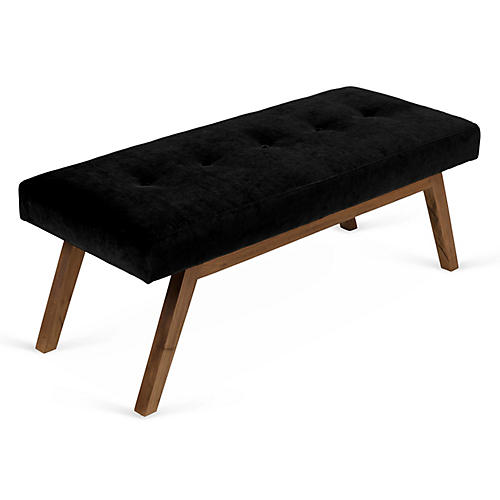 Bleeker Bench, Black Velvet