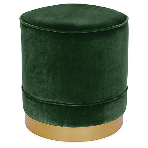Piper Stool, Emerald Velvet