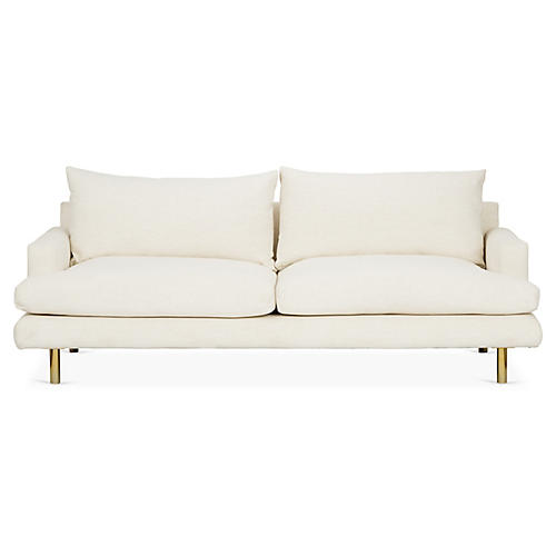 Somerset Sofa, Ivory Crypton