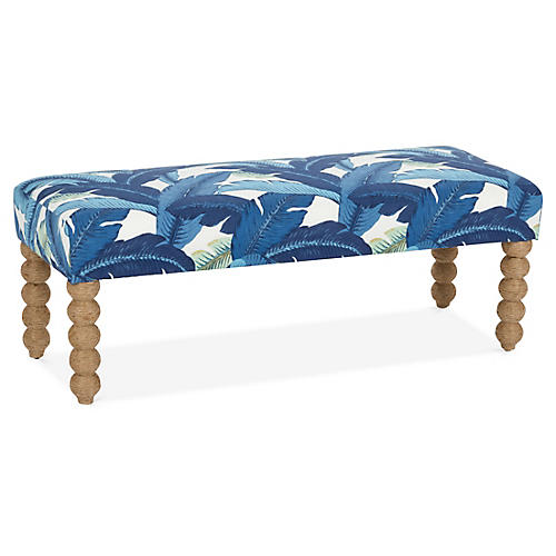 Carly Bench, Blue