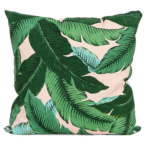 Havanna Palm 20x20 Pillow, Green