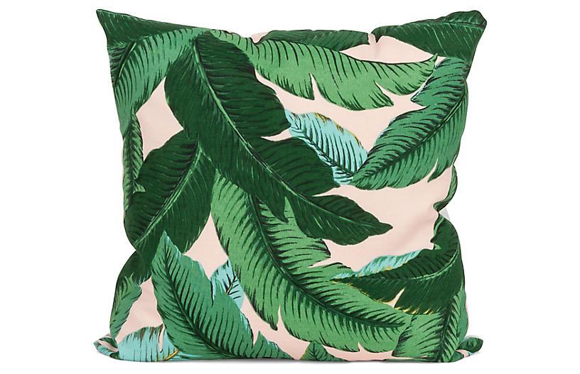Havanna Palm 20x20 Pillow, Green