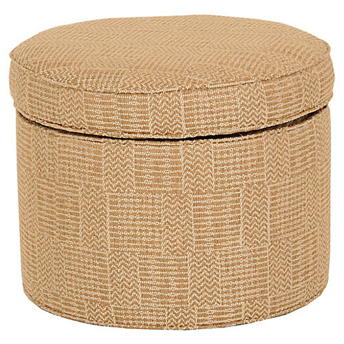 Dillon Storage Ottoman, Natural