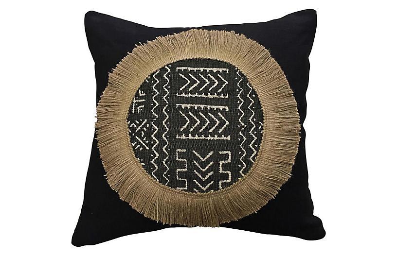Clayton 20x20 Decorative Pillow, Black