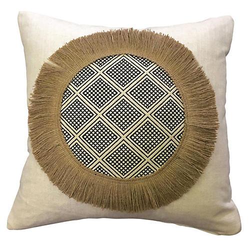Arrieta 20x20 Decorative Pillow, Ivory