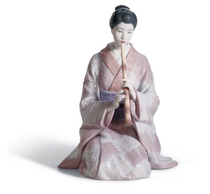 Shinobue Player Figurine