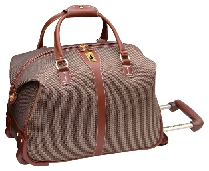 "20"" Lightweight Club Bag Carry-On, Tan"