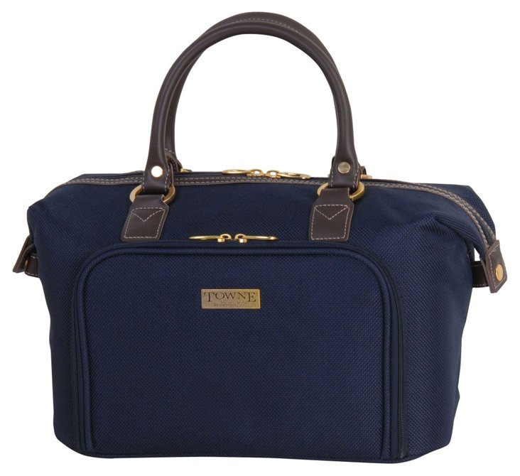 "16"" Towne 360 Cosmetic Tote, Navy"