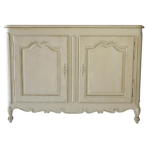 "Regent 55"" Sideboard, Antiqued Ochre"