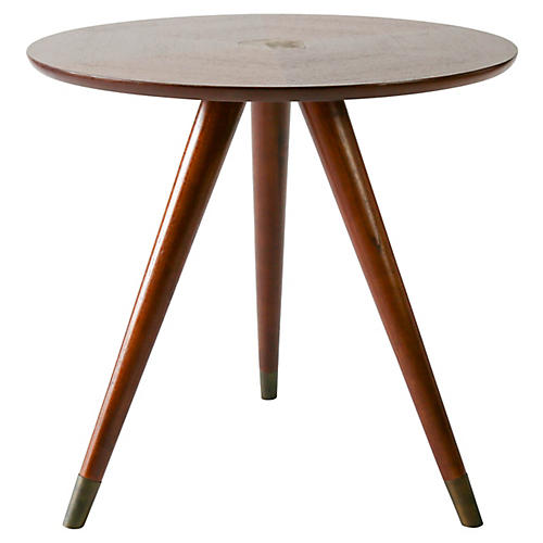 Anders Side Table, Mahogany