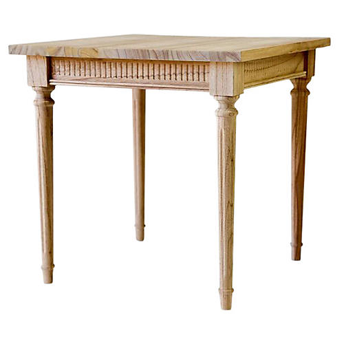 Bourbon Side Table, Natural