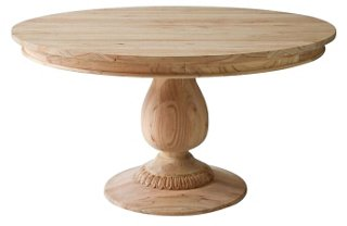 Charlotte Round Dining Table, Natural