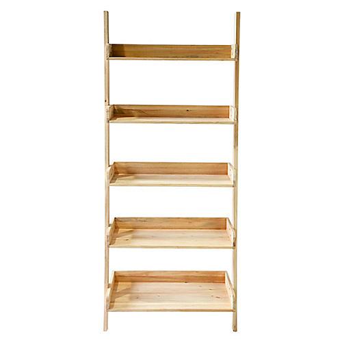 St Paul Ladder Shelf, Natural