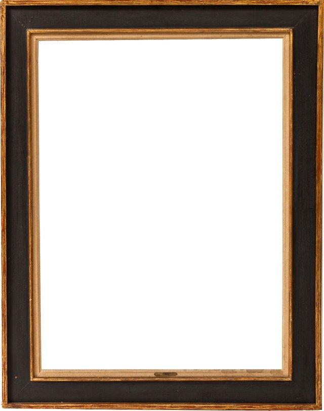 Large Black & Gold Frame
