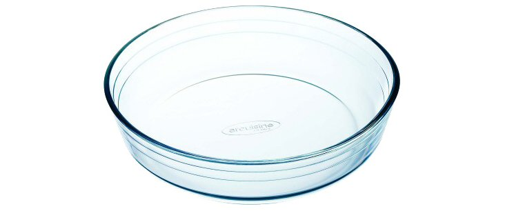 S/2 Glass Cake Dishes