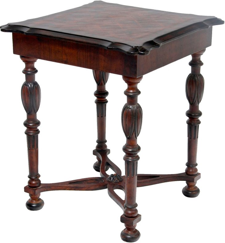 Chessboard Side Table