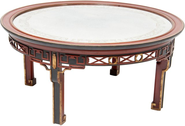 C. 1930 Chinese Cocktail Table