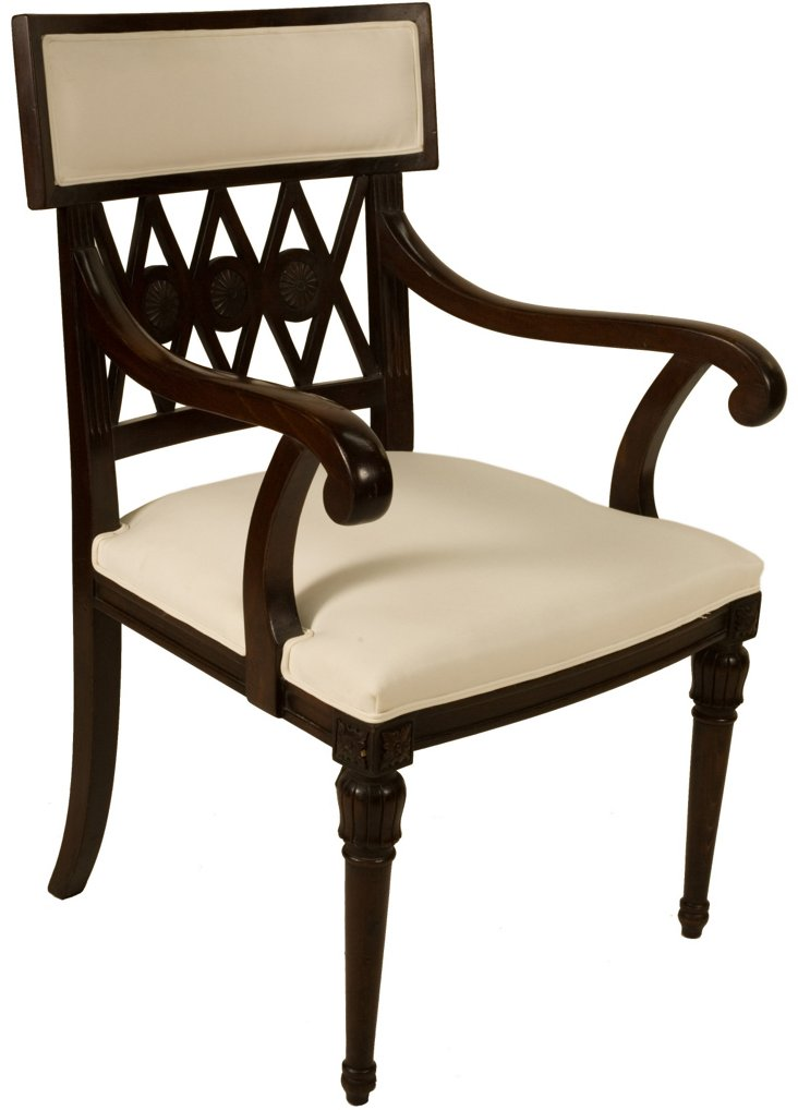Empire Diamond-Back Armchair