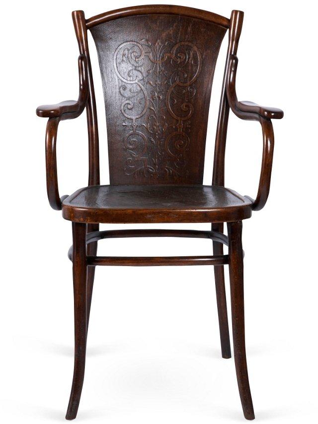 1940s Bentwood Armchair