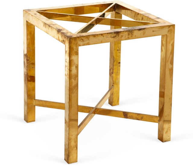 Brass Parsons Table Base