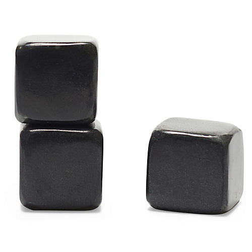 S/9 Huron Whiskey Soapstones, Black