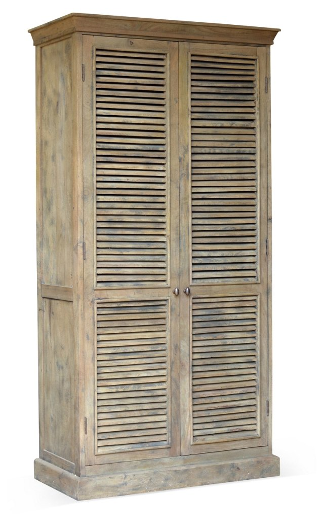 Madison Armoire, Driftwood