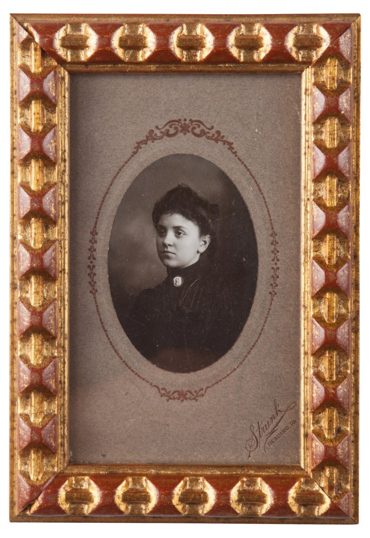 Antique Female Portrait