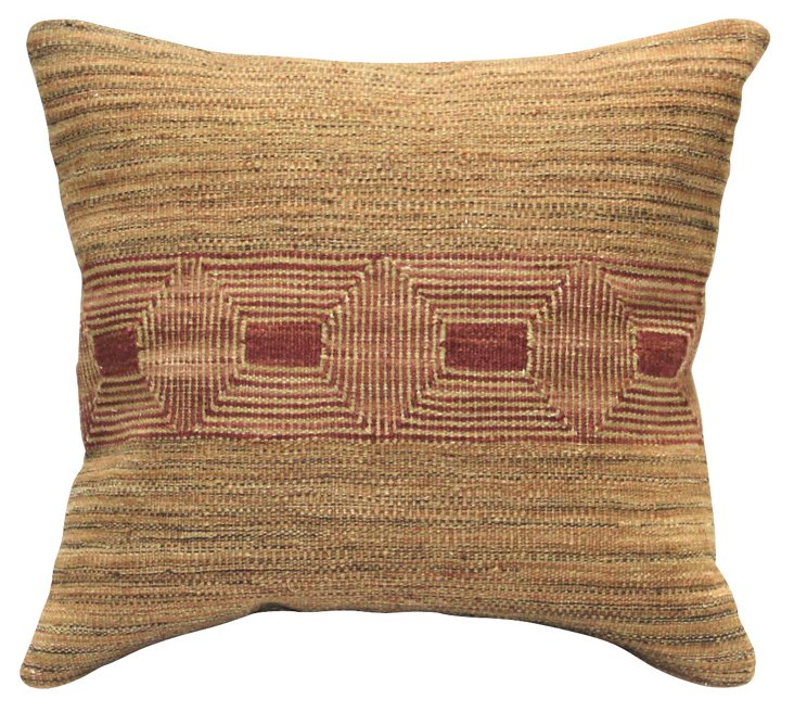 Sioux 20x20 Pillow, Taupe