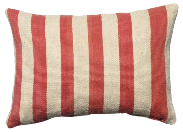 Kilim 14x20 Pillow, Red