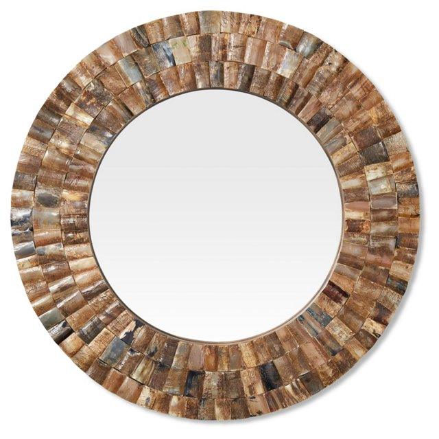 Brady Wall Mirror, Gold