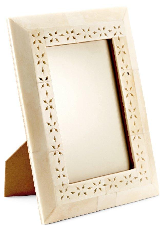 Pierced Bone Frame, 4x6