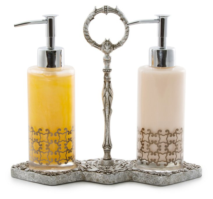 Orangery Lotion and Handwash Decanters