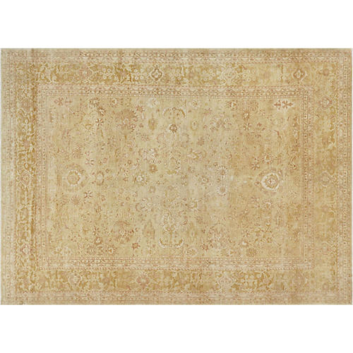 "9'4""x12'10"" Sultanabad Rug, Beige/Tan"