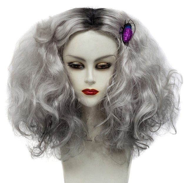 Platinum Gray Wig by Cirque Carnivale