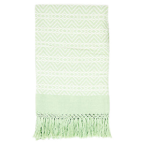 Cristóbal Throw, Light Green