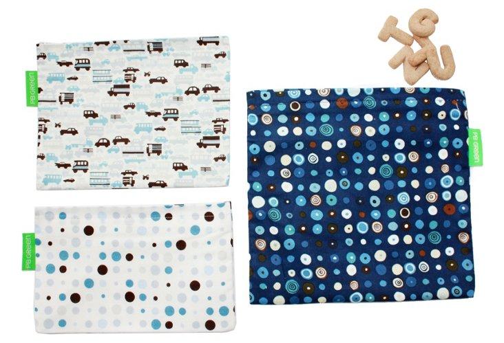 Auto Blue 3 Bag Set