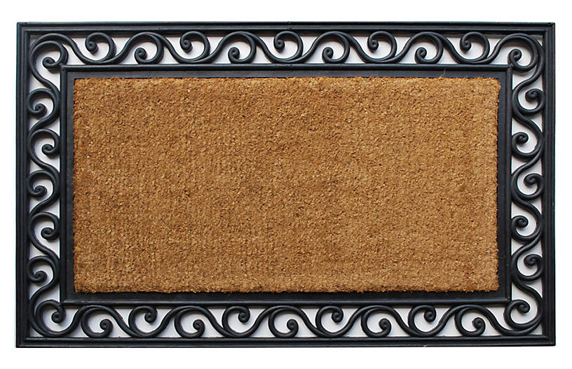 Classic Doormat - Black