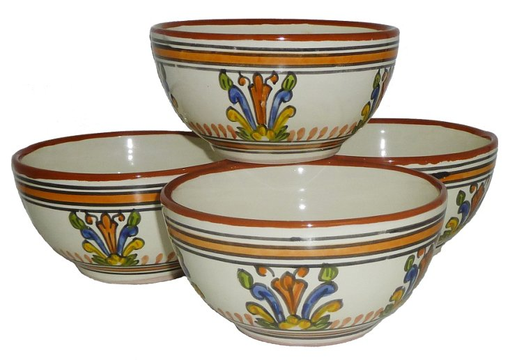 S/4 Sauvage Soup/Cereal Bowls