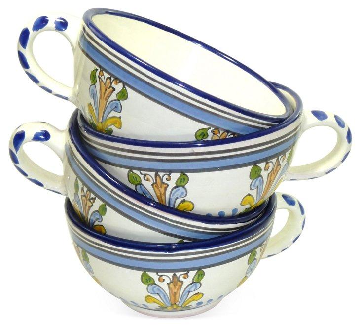 S/4 Jaferjee Latte Mugs