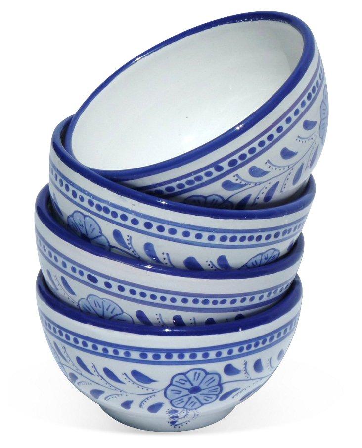 S/4 Azoura Soup Bowls